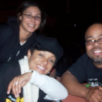 DJ G-Spot in the beautiful company of Janelle from WAMO-Pittsburgh & PJ -WNWV-Cleveland