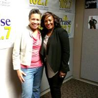 Deanna Ransom & Randi Myles-Praise 102.7 Detroit