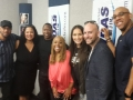 Rosalee gets lots of love in at iHeart Media Philly with Nat Martin, Double M, DJ Doc B (Power 99), Patty Jackson (WDAS), Rosalee, Darren Sher and DC (OM of WDAS & Power 99)