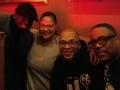 Quandruple trouble: DJ Mickey Calvin, Double M, DJ Lil John and DJ G-Spot at the Family Den 1-9-17