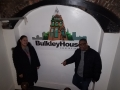 With DJ G-Spot at Bulkley House in Cleveland